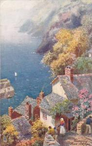 AS, Rose Collage, Clovelly (Devon), England, UK, 1900-1910s