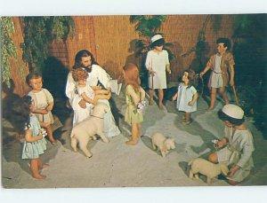 Pre-1980 JESUS AT SUNKEN GARDENS St. Petersburg Florida FL AF9239