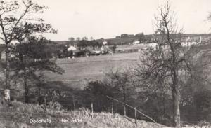 Village Heath Doodfield Stockport Vintage Real Photo Postcard