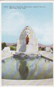 Mormon Battalion Monument Capitol Grounds Salt Lake City Utah