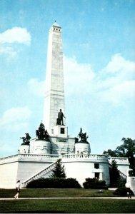 Illinois Springfield Oak Ridge Cemetery Abraham Lincoln's Tomb and Memorial