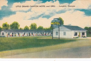 Georgia Lumpkin Little Grand Canyon Motel & Grill U S Highway 27 sk2359