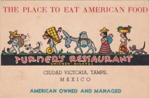 Mexico Ciudad Victoria Turner's Restaurant American Owned