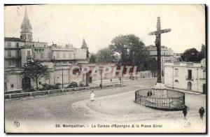 Old Postcard Bank Montpellier Caisse d & # 39Epargne and instead Giral