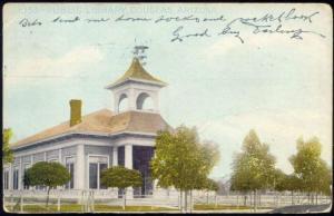 Douglas, Arizona, Public Library (1915) Stamp