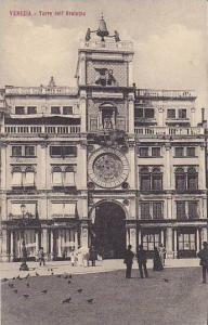 Italy Venezia Torre dell' Orologio
