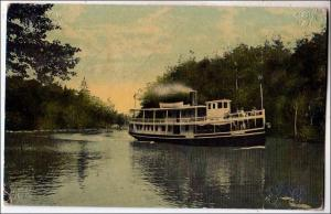 Steamer Clearwater, PM Massena NY