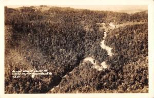 Macomber West Virginia Laurel Mts Real Photo Antique Postcard K105767