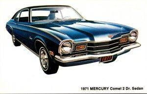 1971 Mercury Comet 2 Door Sedan Irwin Motors Laconia New Hampshire
