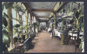 Davenports Restaurant Interior Seattle WA used 1909