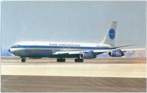 Pan American Airways 707-321, Chrome by Aviationcards.com #13