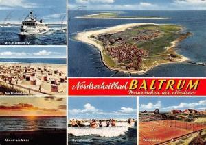 Nordseeheilbad Baltrum, Am Badestrand, M.S. Baltrum IV Tennisplatz