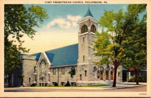 Pennsylvania Philipsburg First Presbyterian Church 1950