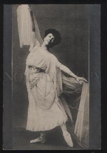 101967 PREOBRAJENSKA Russian BALLET Star DANCE vintage PHOTO