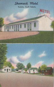 South Dakota Kadoka The Shamrock Motel sk4584