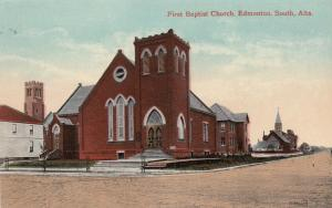 EDMONTON SOUTH, Alberta, Canada, 1900-10s; First Baptist Church