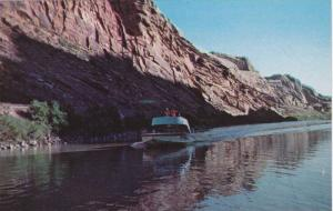 Jet boating on the Colorado River, South of Moab, Utah, 40-60s