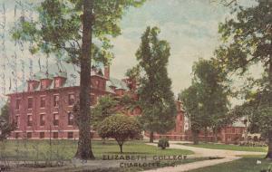 CHARLOTTE, North Carolina ,1909; Elizabeth College