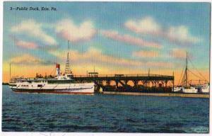 Public Dock, Erie PA