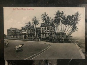 Mint Ceylon Real Picture Postcard RPPC Galle Face Hotel Colombo