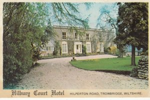 TROWBRIDGE, Wiltshire, England, 1940-60s; Hilbury Court Hotel, Hilperton Road