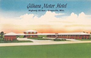 Gilhara Motor Hotel , GREENVILLE , Mississippi , 1936