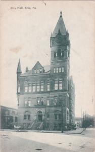 ERIE , Pennsylvania , 1900-10s ; City Hall