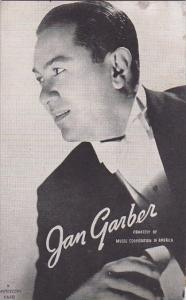 Vintage Mutoscope Card Jan Garber