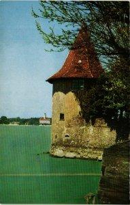 CPA AK Lindau I.B.- Der Pulverturm mit Bad Schachen GERMANY (882208)