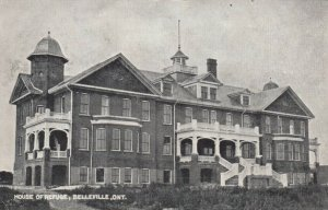 BELLEVILLE, Ontario , 1907 ; House of Refuge