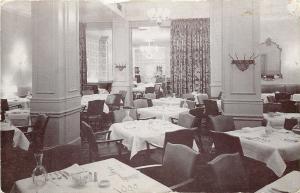 Columbus Ohio~Interior Dining Room, Hat Rack, Columns~Marzetti's Restaurant~1956