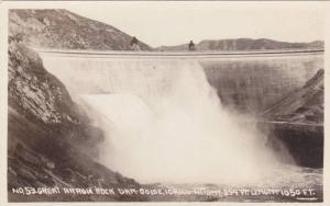 RP: Great Arrow Rock Dam , BOISE , Idaho , 1920-30s
