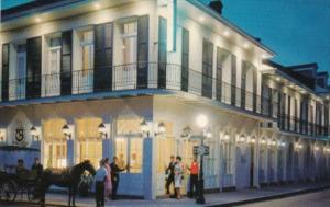 Louisiana New Orleans The Chateau Motor Hotel 1001 Chartres Street