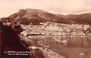 Port et Tete De Chien, Real Photo Palais du Prince Unused