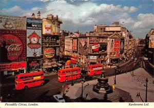 Piccadilly Circus London Busses Coca Cola Market Skol Guinness Time