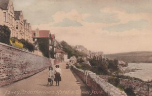 FOWEY , Cornwall, England, UK ; 00-10s ; St Catherine's Hotel & Tower Park