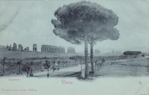ROMA , Italy , 1890s ; Acquedotti