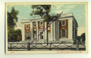 ft987 - New Public Library , New Haven , Conn , USA  - postcard