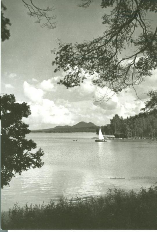 Czech Republic, Machovo Jezero unused real photo Postcard