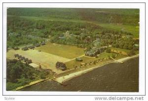 Aerial View, Presbyterian Camp, Island Heights, New Jersey, 40-60s