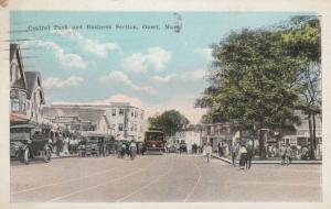ONSET, Massachusetts , 1900-10s; Central Park & Business Section