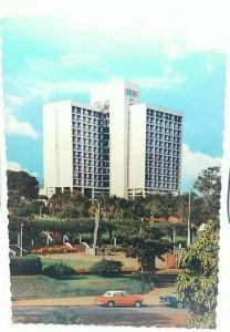 Vintage Postcard Apolo Hotel Kampala Uganda Posted 1970
