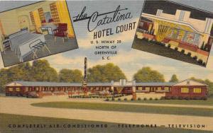 7448  SC Greenville    Catalina Hotel Court Motel