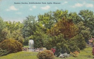 Sunken Garden Schifferdecker Park Joplin Missouri 1948