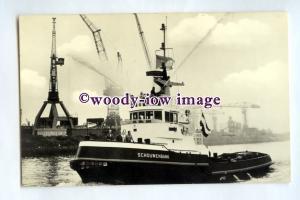 pf0307 - Dutch Tug - Schouwenbank , built 1960 renamed Astronoon - postcard