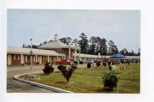 Rocky Mount NC Buick Motel Old Cars Postcard