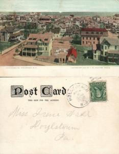 WILDWOOD N.J. 1908 UNDIVIDED ANTIQUE POSTCARD
