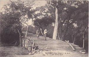 Dahomey. (Haut Niger) - A.O.F. , Un Grand Pont, 00-10s