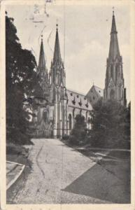 Czechoslovakia Olomouc Dom The Church 1939