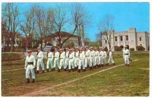 Drill Team @ Work,Augusta Military Academnt,Fort Defiance, VA / Virginia  195...